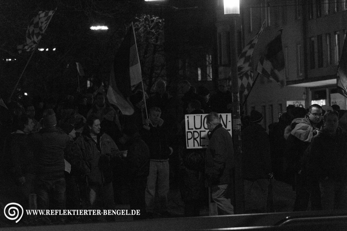 12.01.15 München - Bagida Demonstration
