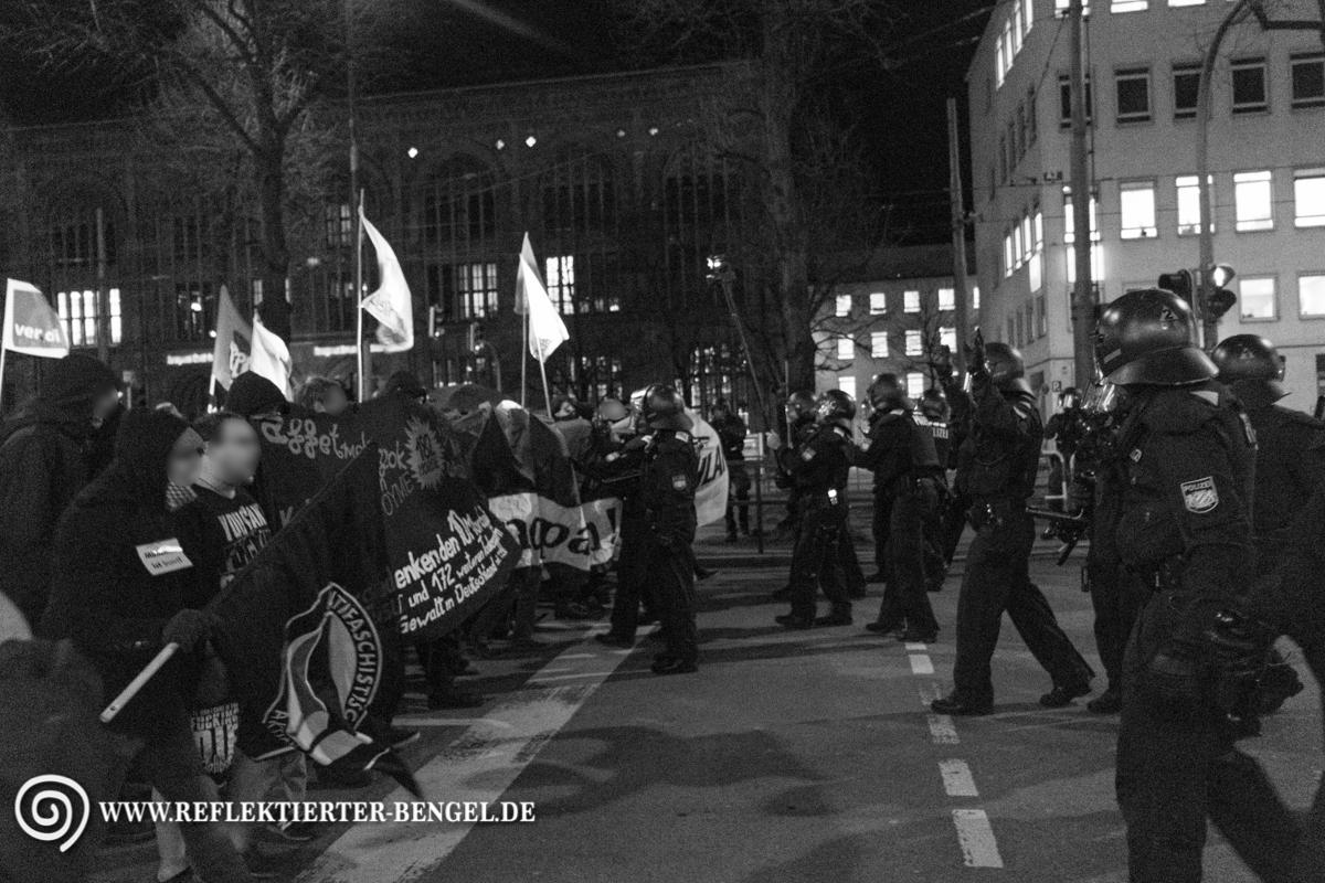 12.01.15 München - Bagida Demonstration
