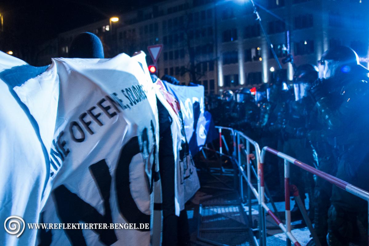 19.01.15 München – BAGIDA Demo und Gegenproteste