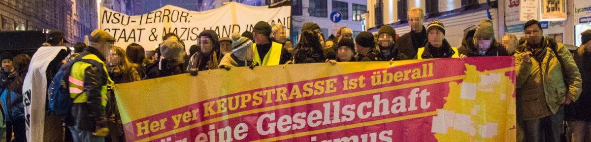 Demo: Keupstraße ist überall!