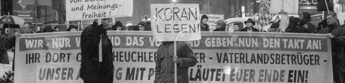 Bagida Demonstration in München