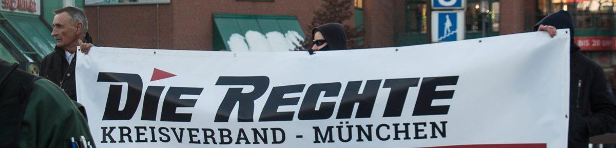Die Rechte Kundgebung und Gegenproteste