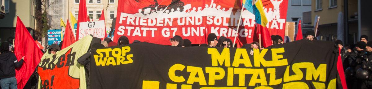 Münchner Sicherheitskonferenz und Gegenproteste 2015
