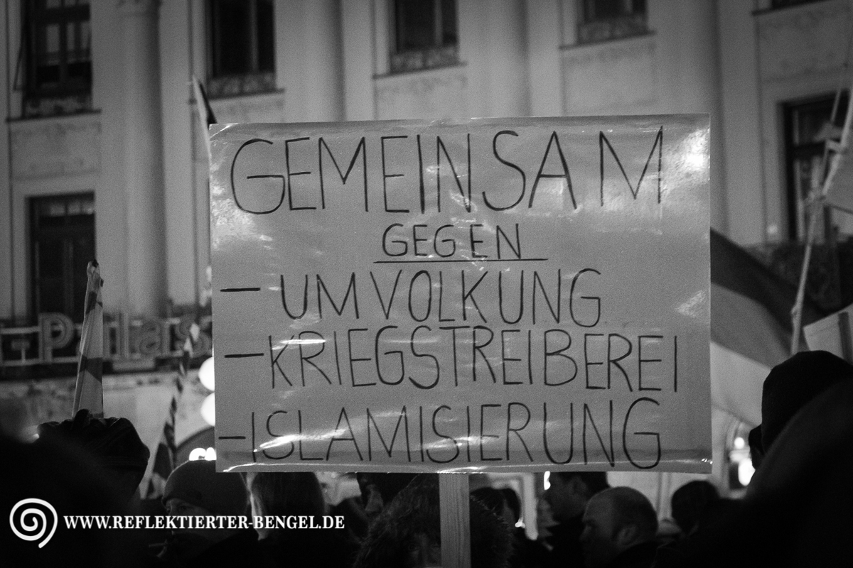 02.03.15 München - Bagida Demonstration
