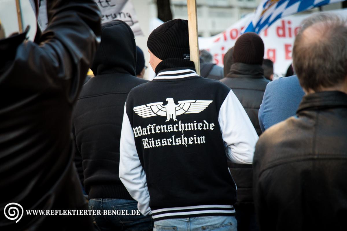 07.03.15 München - Bagida Aufmarsch