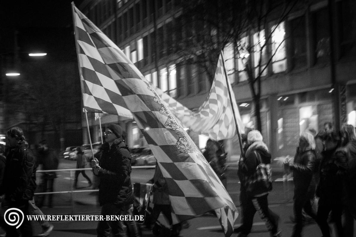 13.03.15 München - Bagida Aufmarsch