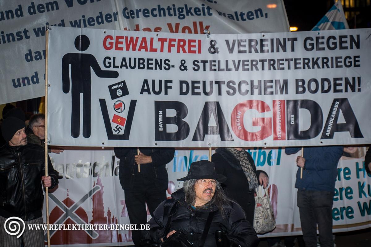 23.03.15 München - Bagida Aufmarsch