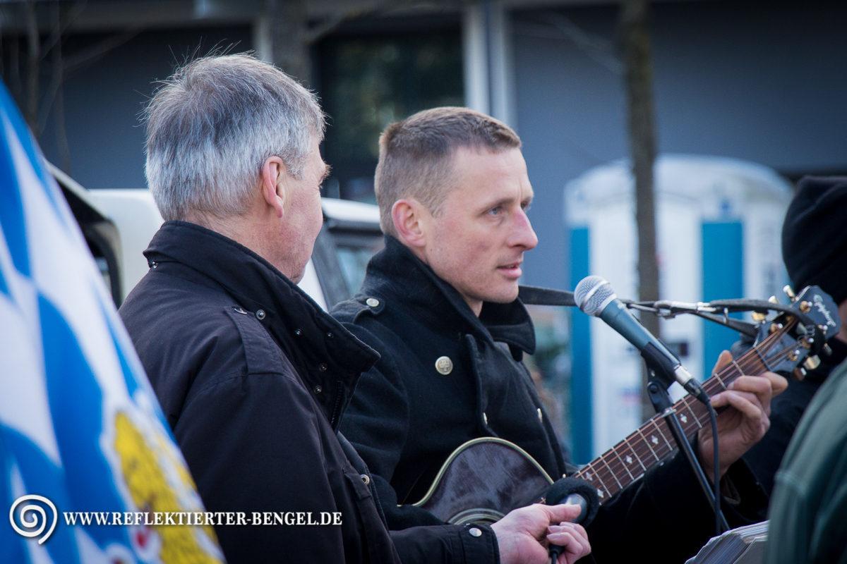 28.02.15 München - Der III. Weg Axel Schlimper Roland Wuttke