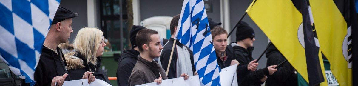 Der III. Weg Kundgebung in Giesing