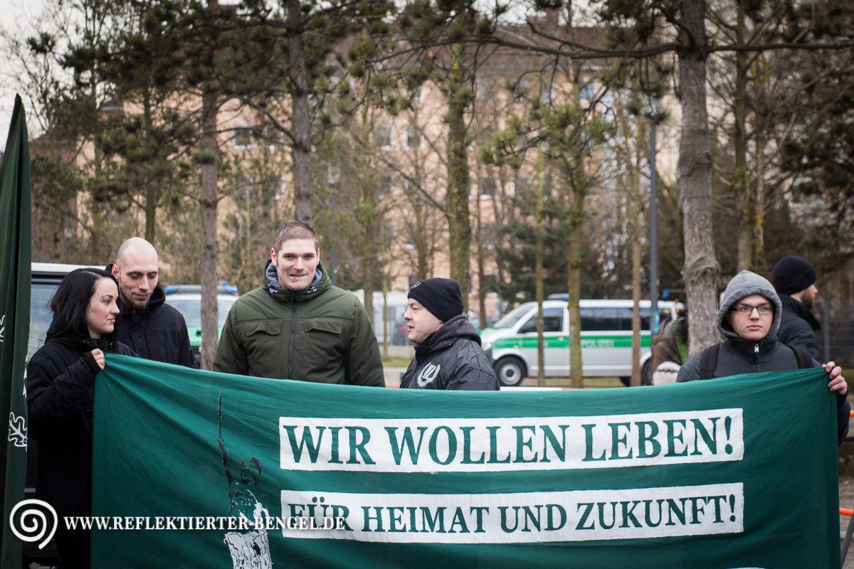 28.02.15 München - Der III. Weg Karl-Heinz Statzberger