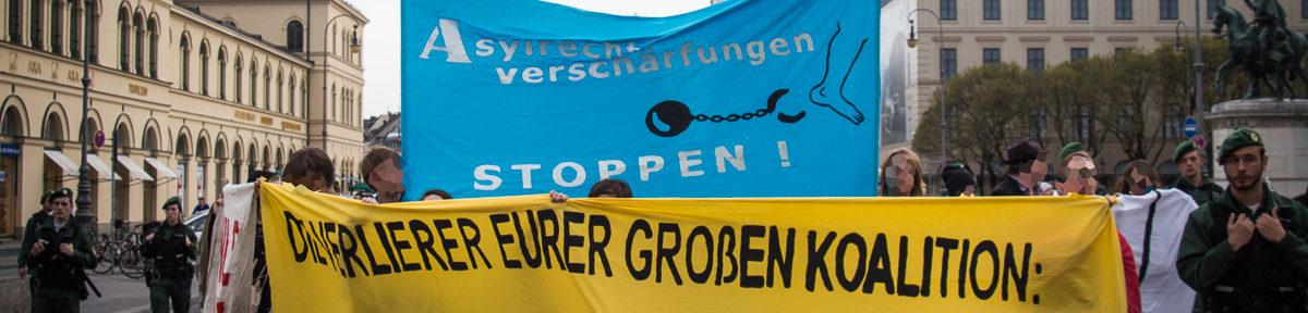 Demo: Asylrechtsverschärfungen stoppen!