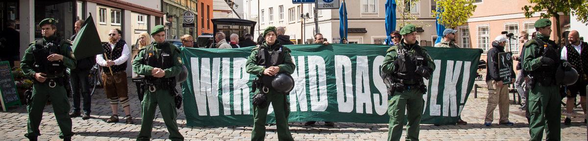 Neonazi-Kundgebung in Freising