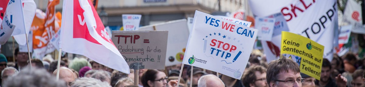 Demonstration Stop TTIP