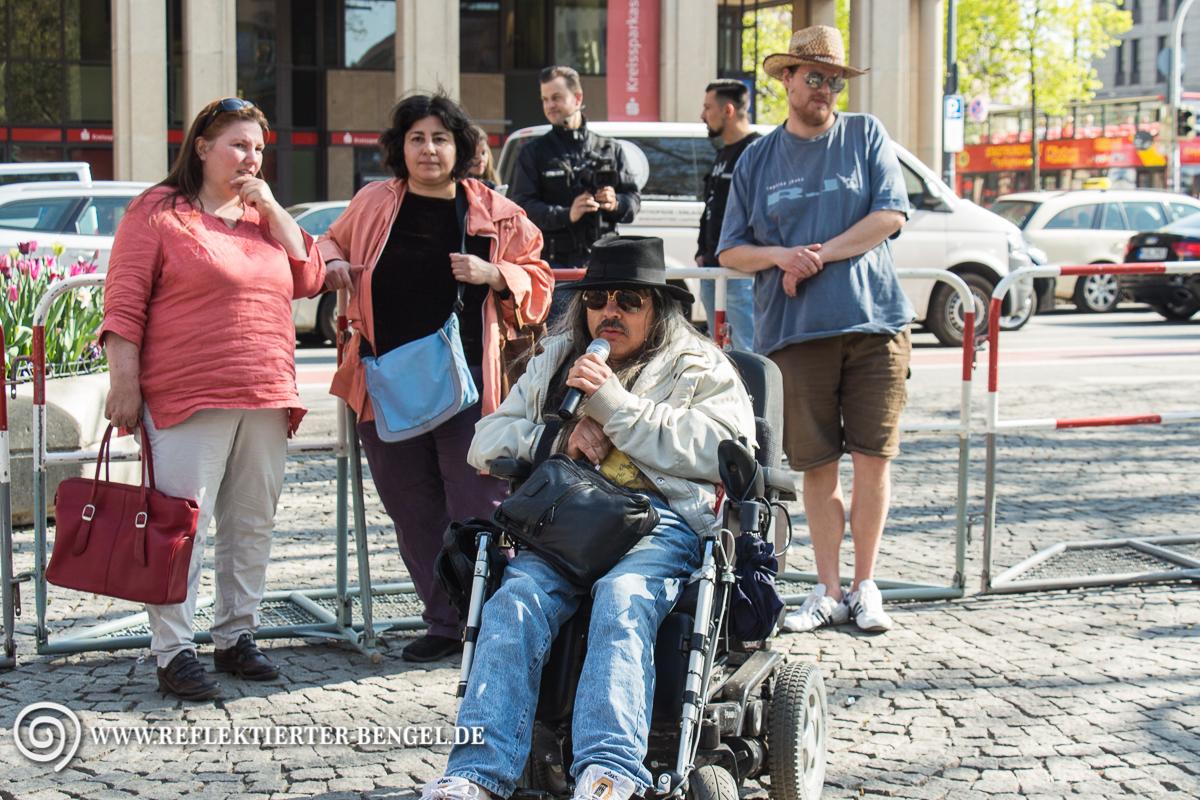 24.04.15 München - Die Freiheit Kundgebung