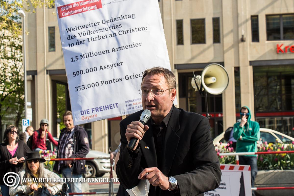 Michael Stürzenberger (Die Freiheit und regelmäßiger Bagida Redner)