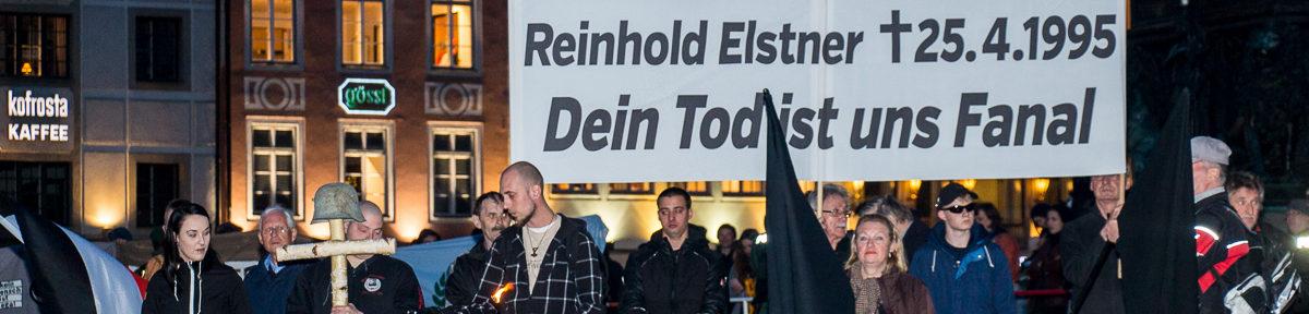 Neonazi-Mahnwache vor der Münchener Oper