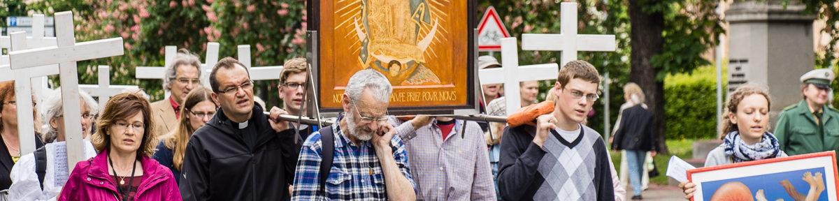 Demo: 1000-Kreuze-Marsch