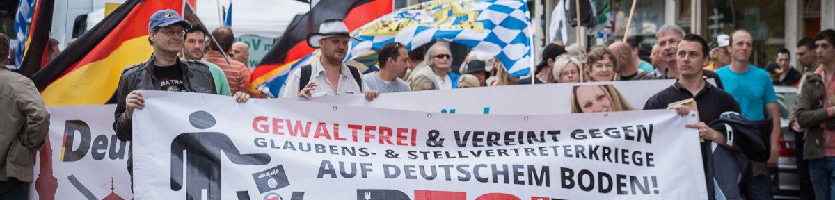 Pegida Hand in Hand mit der Münchener Naziszene