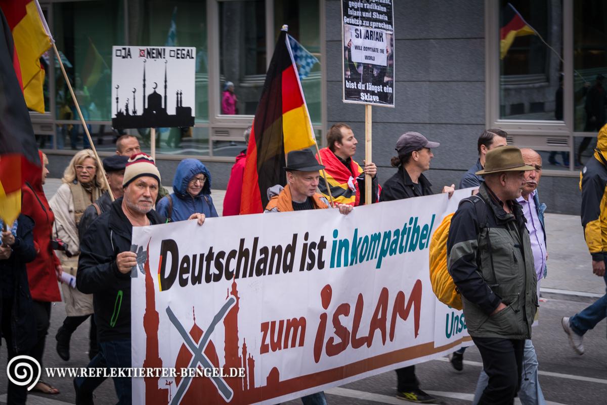 22.06.15 München - Pegida München
