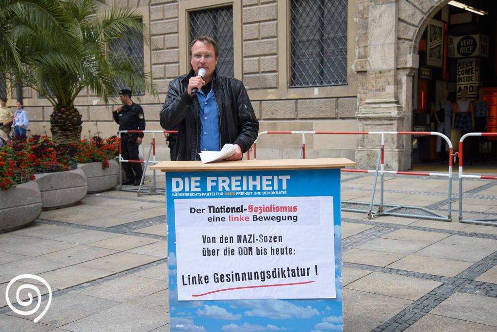 Michael Stürzenberger (Landesvorsitzender Die Freiheit)