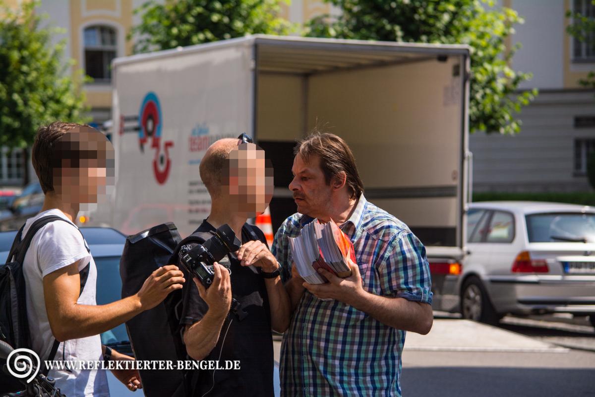17.07.15 München - Die Freiheit Kundgebung, Rolf H.