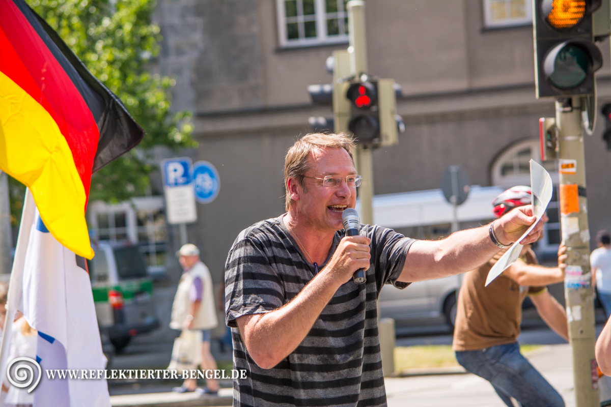 17.07.15 München - Die Freiheit Kundgebung, Michael Stürzenberger