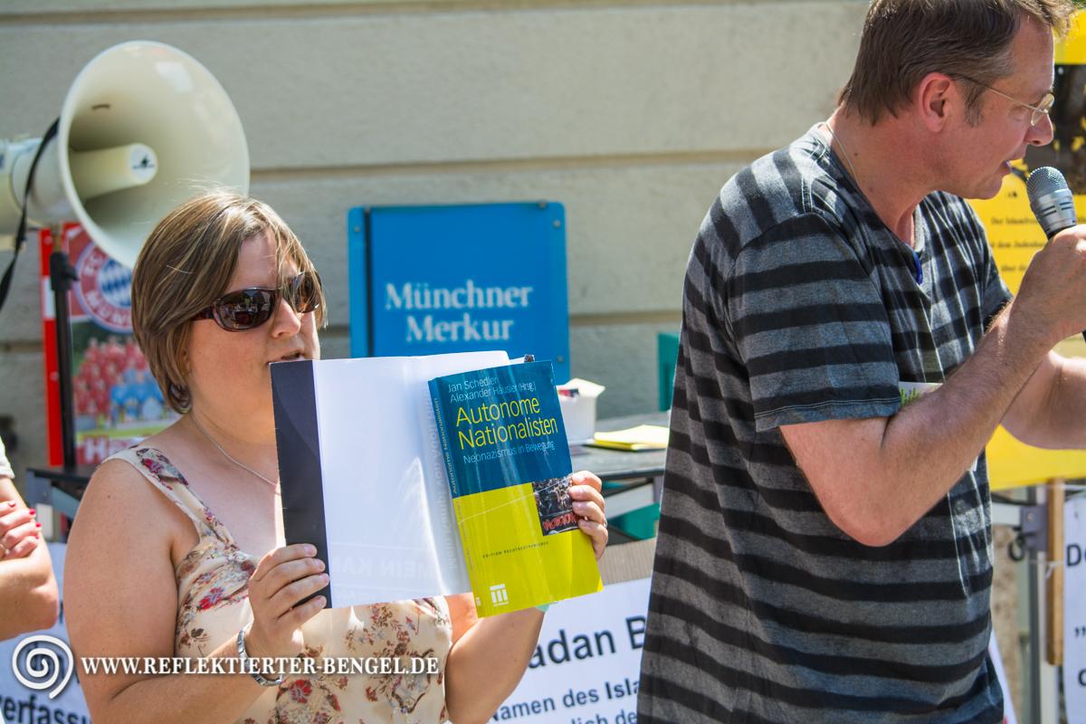 17.07.15 München - Die Freiheit Kundgebung, Nicola N.