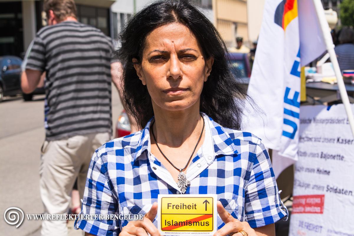17.07.15 München - Die Freiheit Kundgebung, Nawal