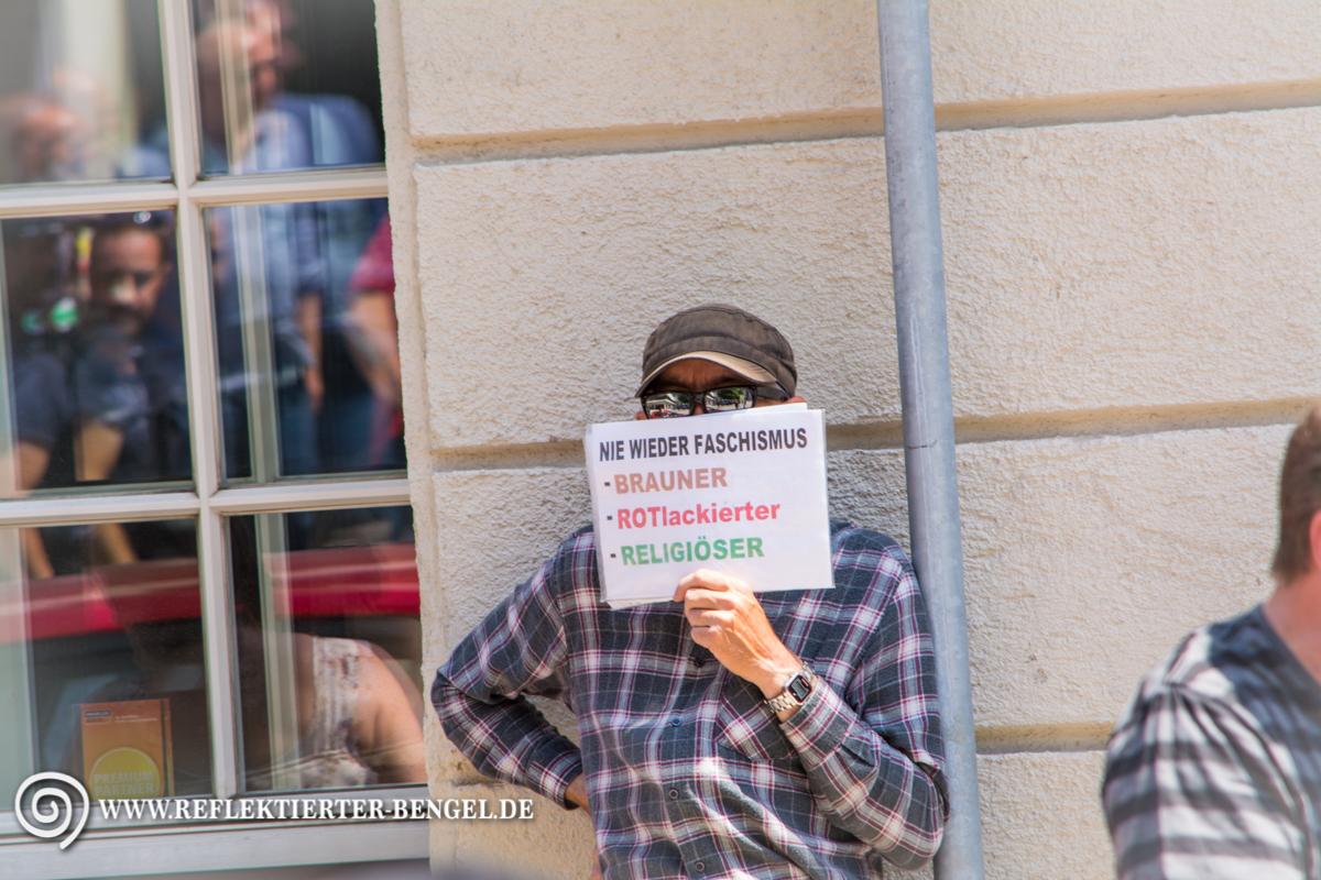 17.07.15 München - Die Freiheit Kundgebung