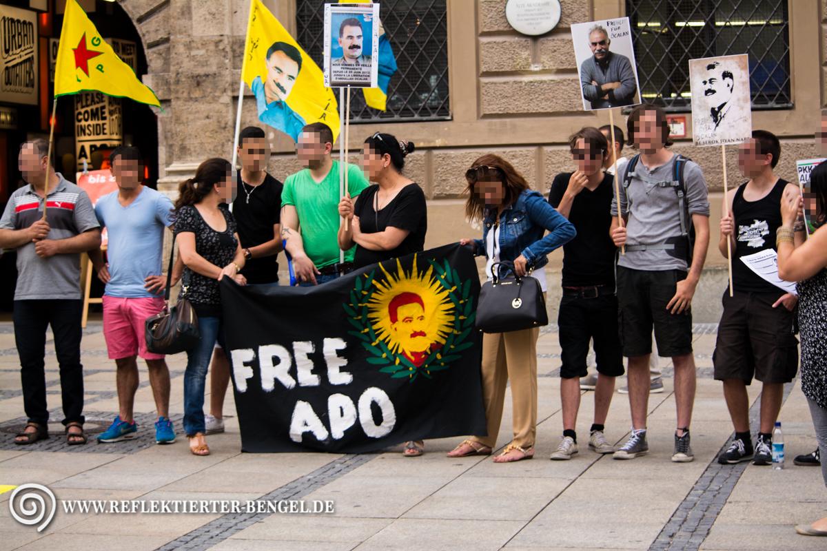 17.07.15 München - Kundgebung Freiheit für Öcalan