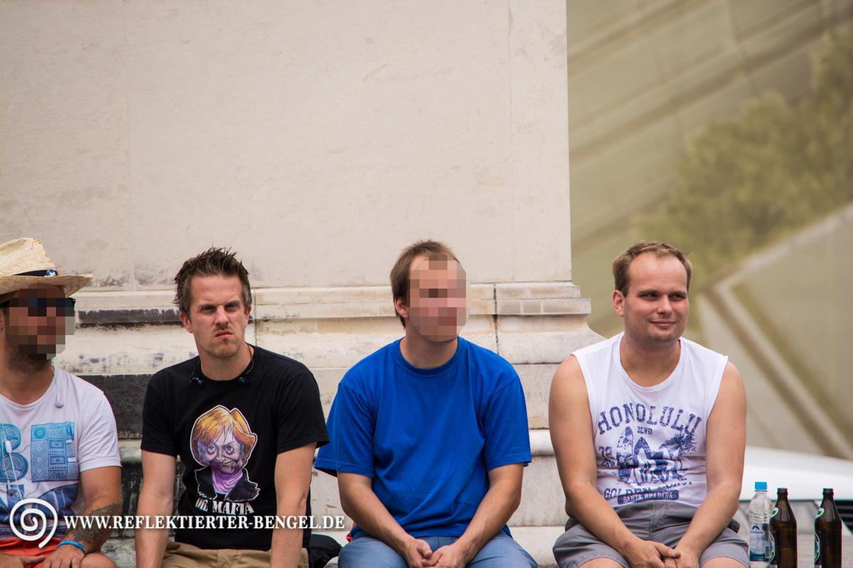 18.07.15 München - Mahnwachen Spezial, Marcel Wojnarowicz