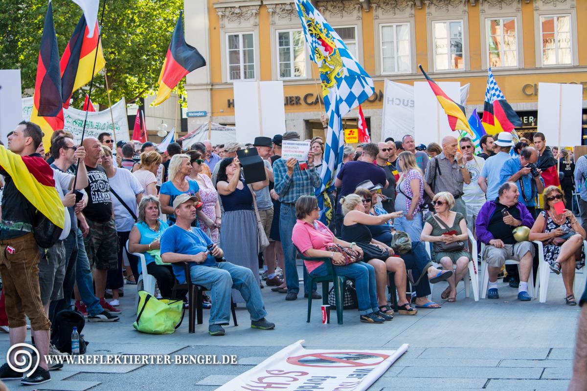 20.07.15 München - Pegida München