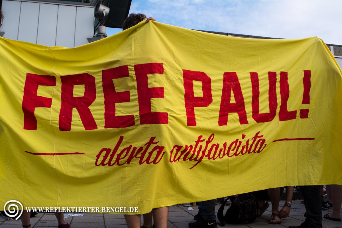 24.07.15 München - Soli-Demo für festgenommen Antifaschisten