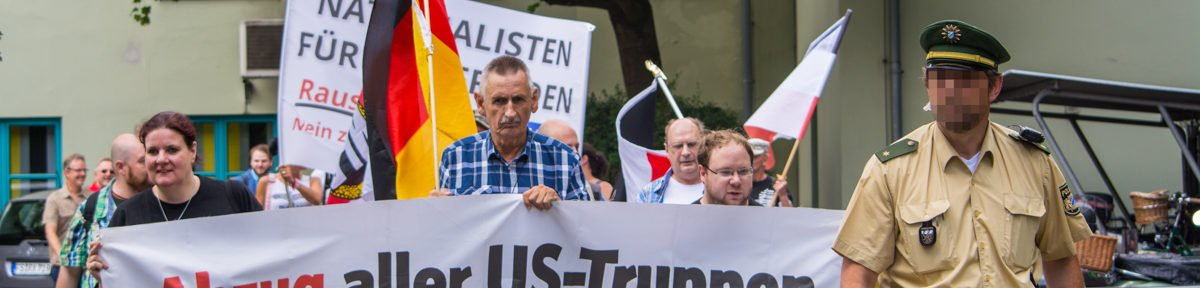 NPD Demo in Freising