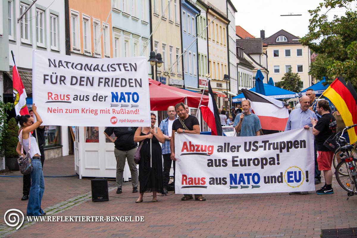 25.07.15 Freising - NPD Kundgebung
