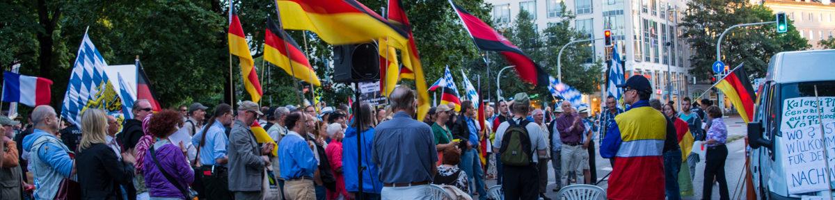 Pegida München – Der montägliche Wahnsinn