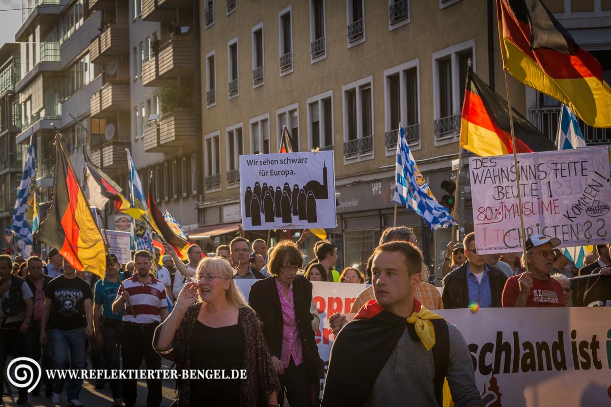29.06.15 München - Pegida München