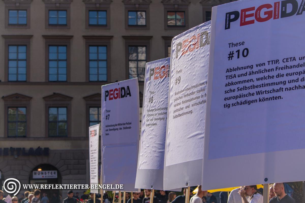 03.08.15 München - Pegida München