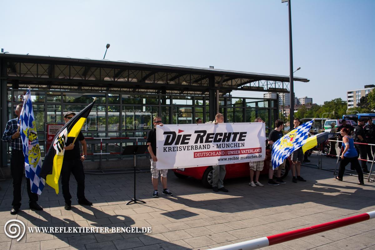 08.08.15 München - Die Rechte Kundgebungen
