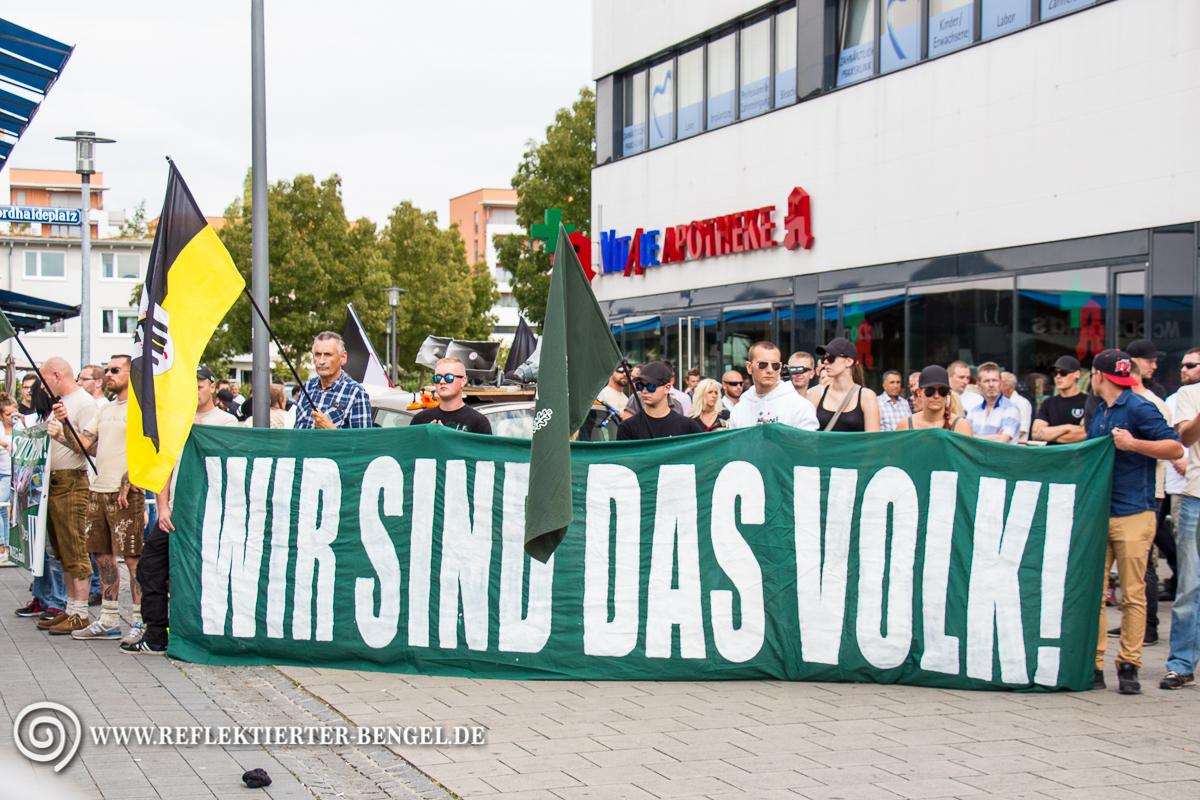 15.08.15 München - Der III. Weg Kundgebung