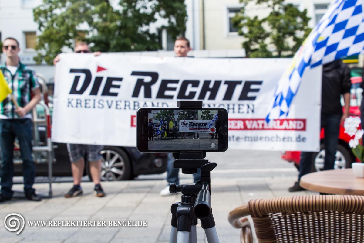22.08.15 München - Die Rechte Kundgebungen