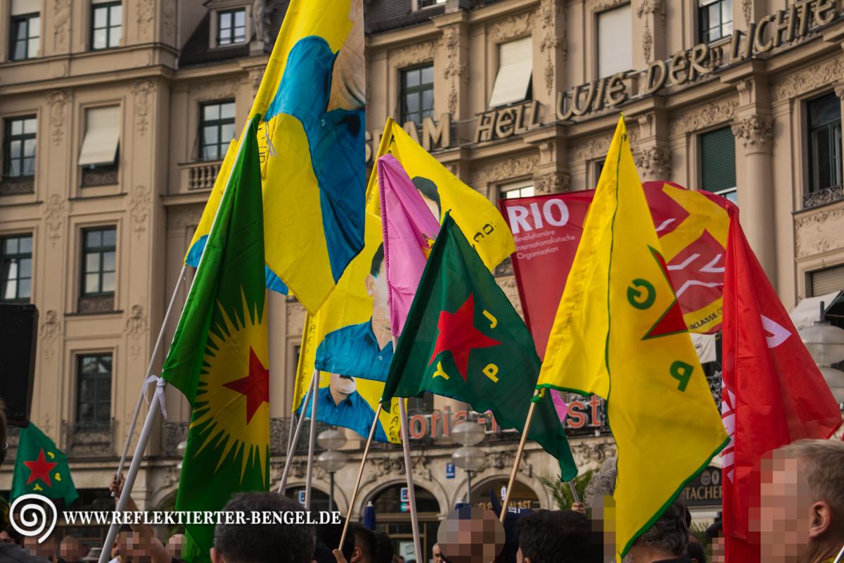 30.07.15 München - Kurdische Demo