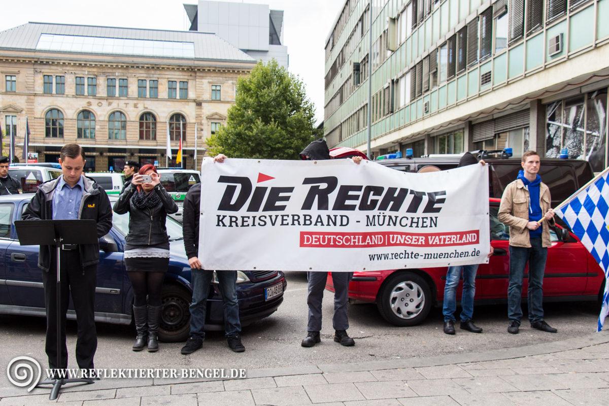 05.09.15 München - Die Rechte Kundgebung