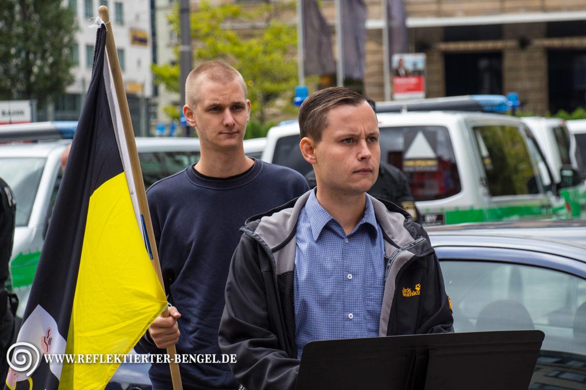 05.09.15 München - Die Rechte Phillip Hasselbach