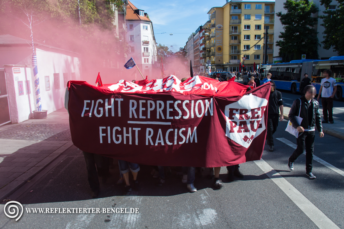 12.09.15 München - Demo Freiheit für Paul