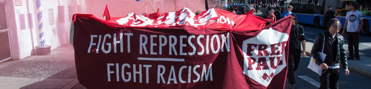 Antifaschist*innen fordern Freilassung von Aktivisten