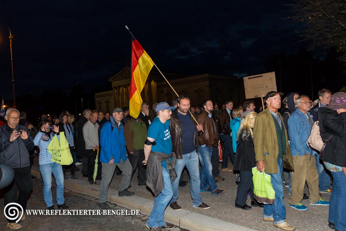14.09.15 München - Pegida München