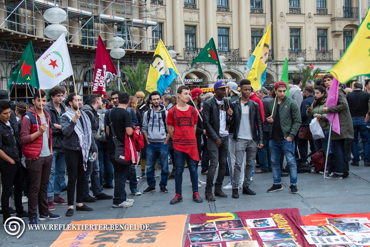 15.09.15 München - Kurdische Kundgebung