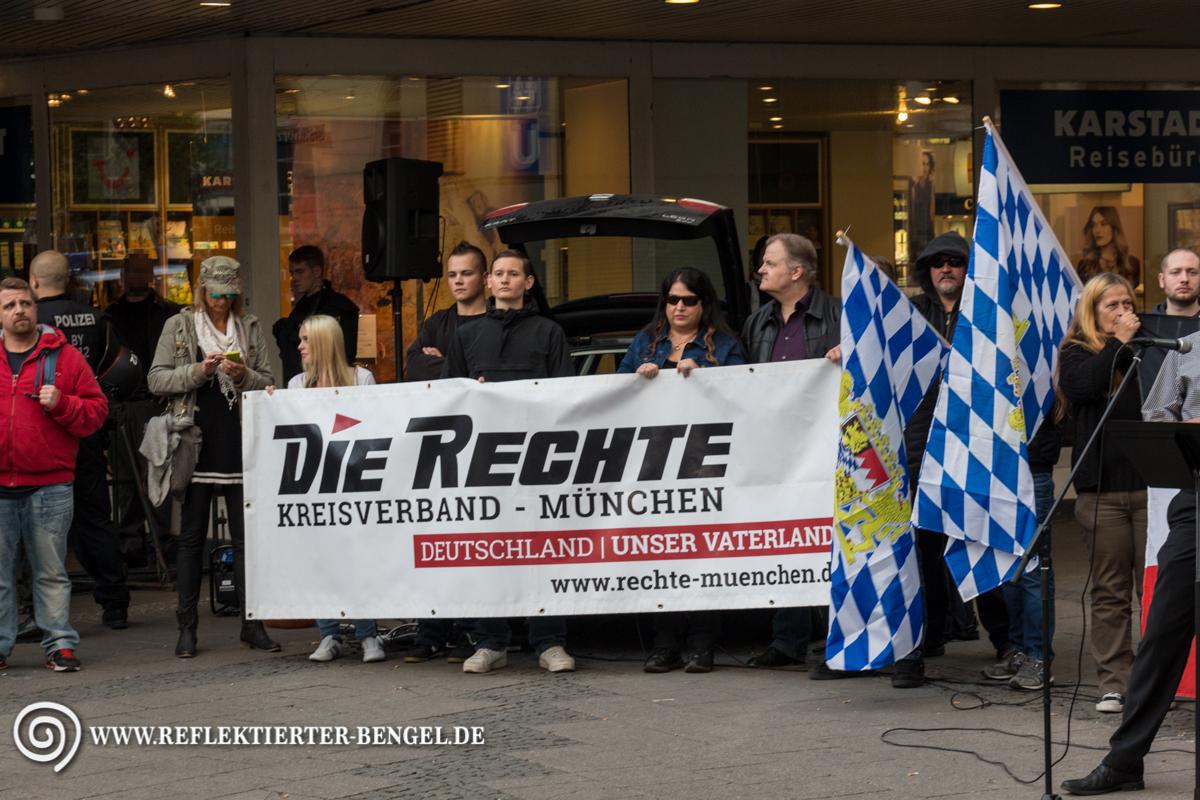 19.09.15 München - Die Rechte Kundgebung, Dan Eising