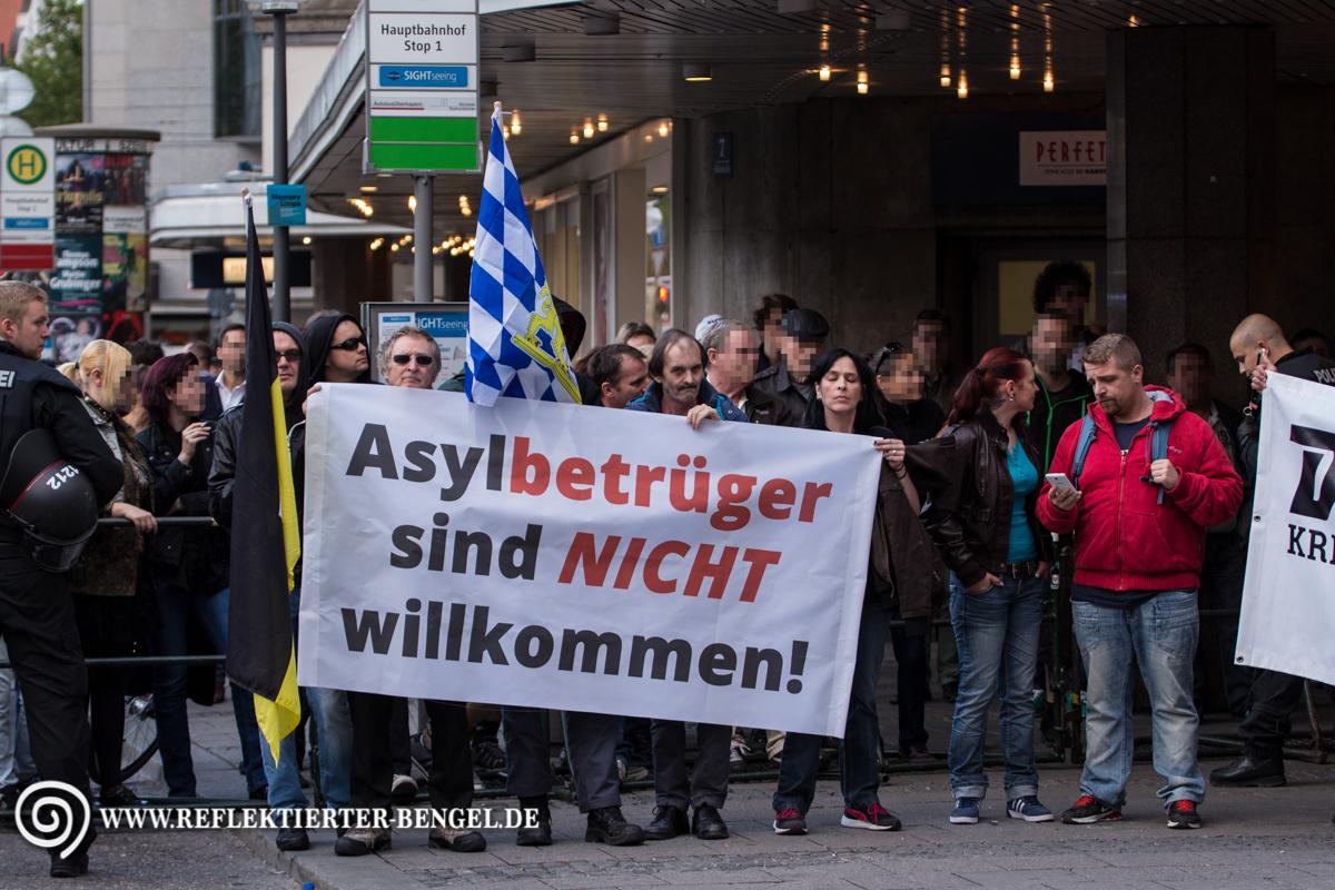 19.09.15 München - Die Rechte Kundgebung, Marion B.